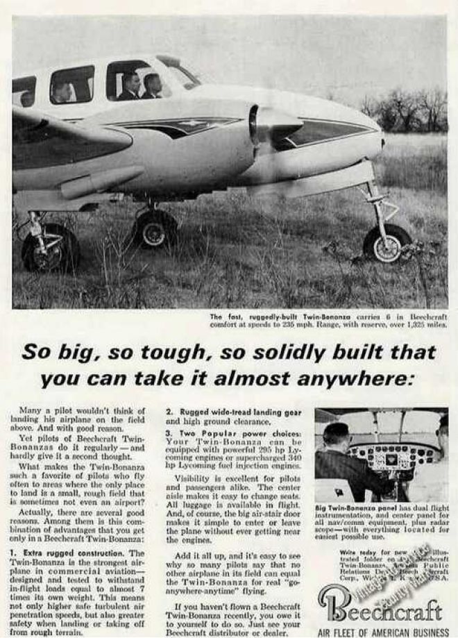 Vintage Airlines And Aircraft Ads Of The 1960s Page 34