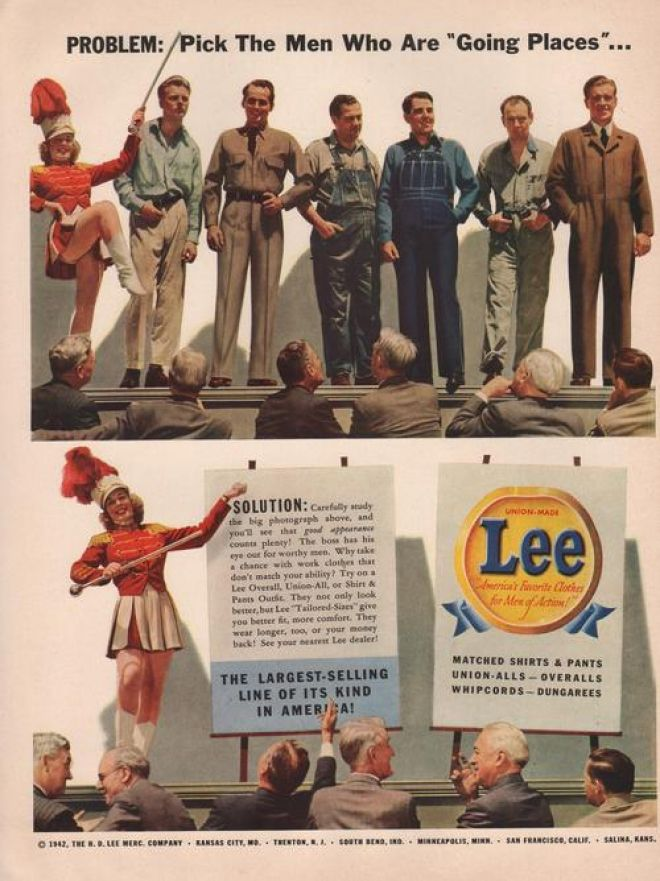 Vintage Clothes Fashion Ads Of The 1940s Page 9