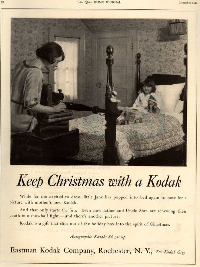 Vintage Xmas Advertisements of the 1920s