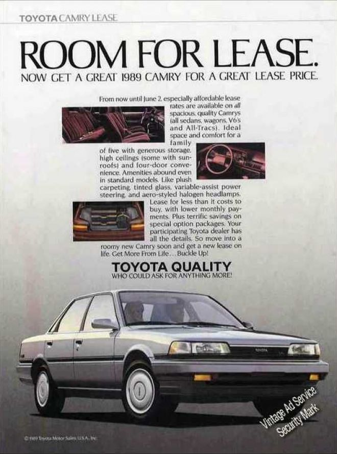 vintage car advertisements of the 1980s  page 8