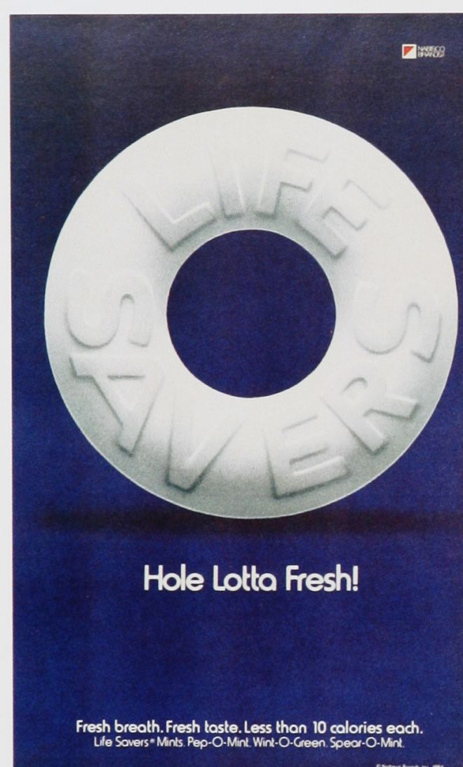 Vintage Candy Advertisements of the 1980s