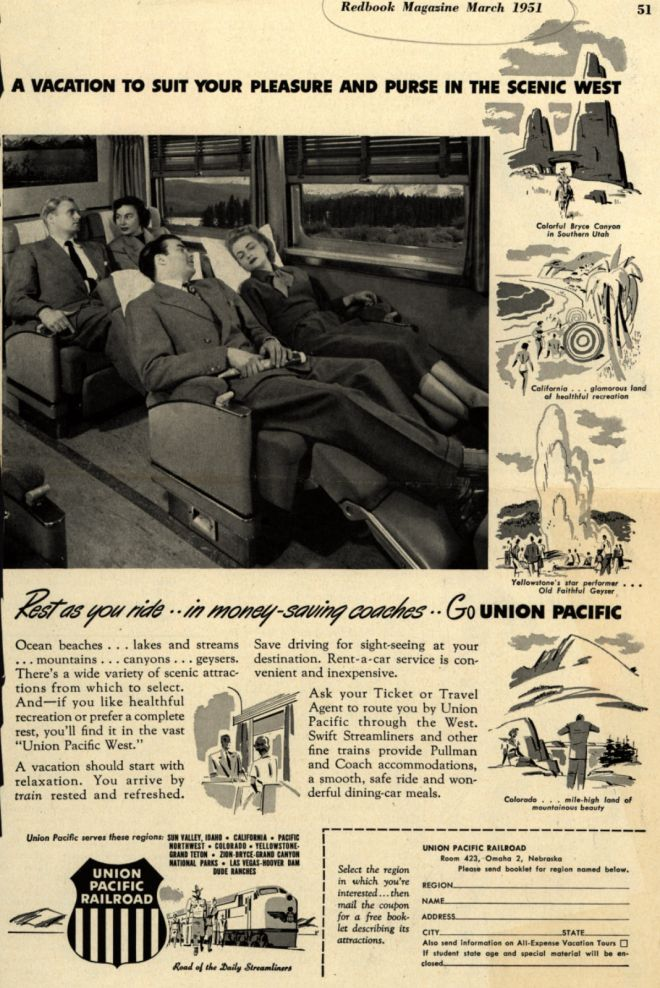 Vintage Transportation Ads of the 1950s (Page 167)