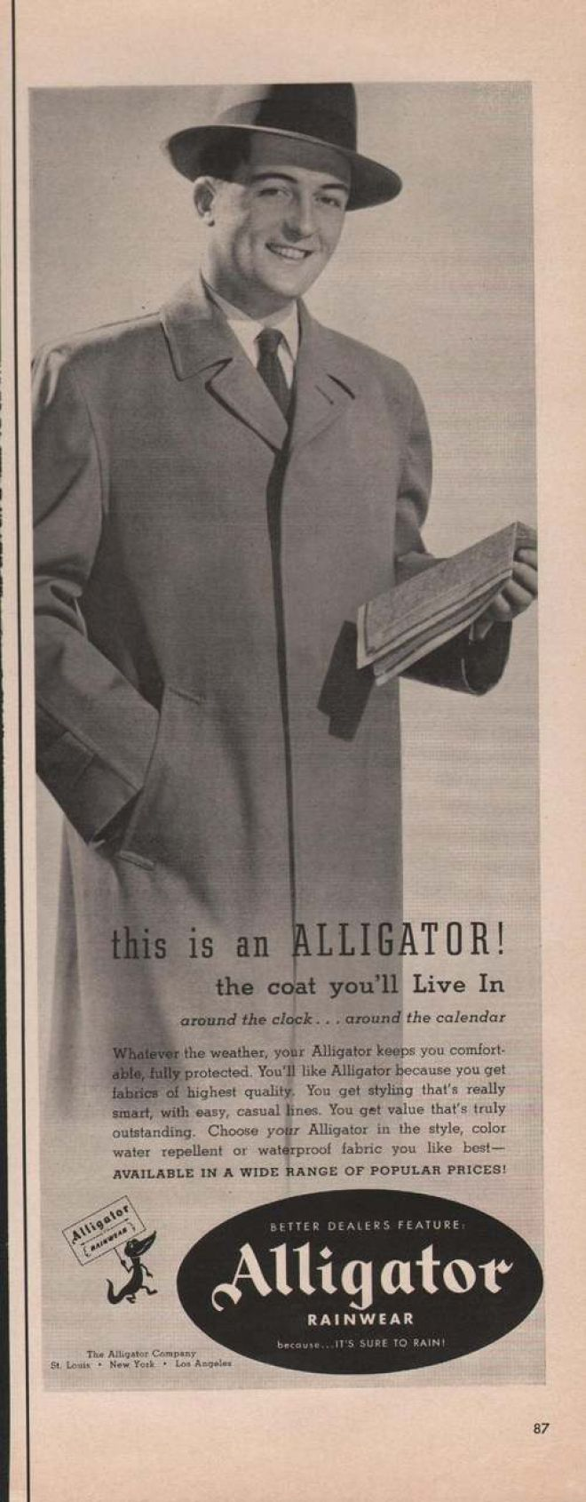 Vintage Clothes Fashion Ads Of The 1950s Page 61