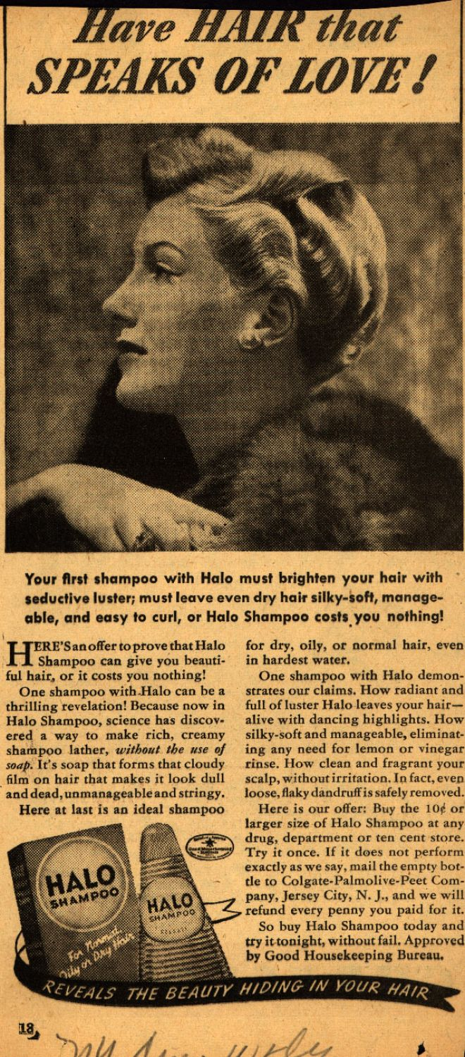 Vintage Beauty And Hygiene Ads Of The 1940s Page 38