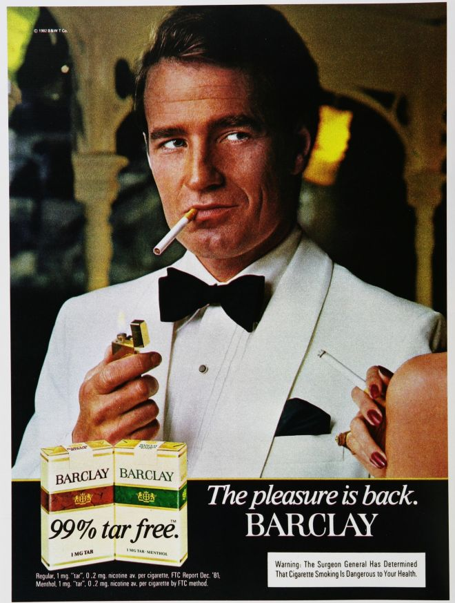 Vintage Tobacco/ Cigarette Ads of the 1980s (Page 6)