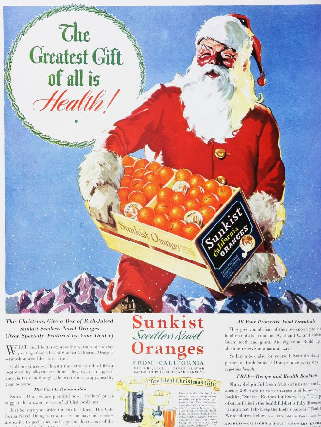 Coke Christmas Ads.Vintage Xmas Advertisements Of The 1930s