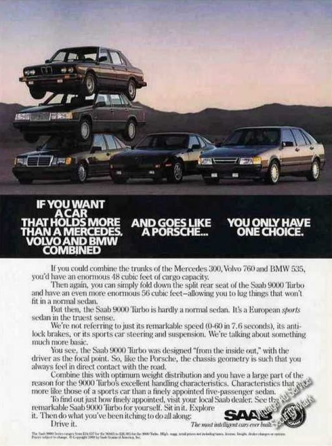 Vintage Car Advertisements Of The 1980s Page 48