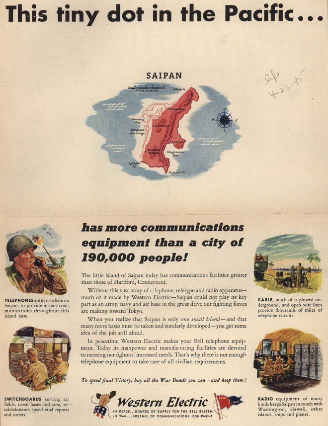 1945 Western Electric Advertisement Collectibles