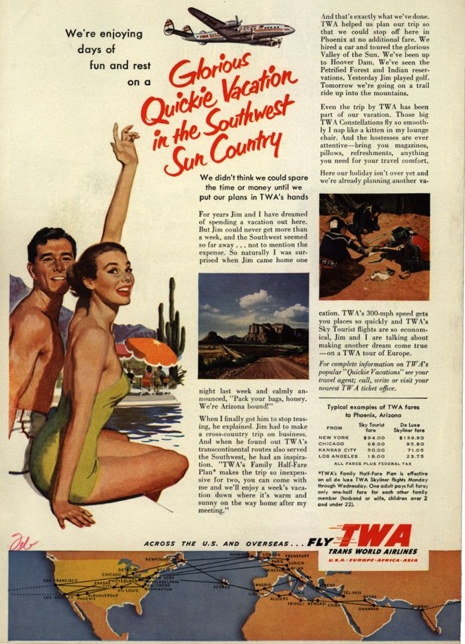 Vintage Travel And Tourism Ads Of The 1950s Page 88