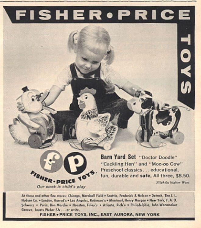 Toys in 1950 s really