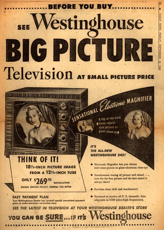 Vintage Electronics Tv Of The 1940s Page 21