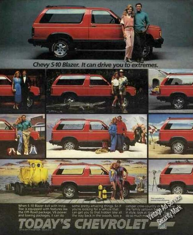 Vintage Car Advertisements Of The 1980s Page 10