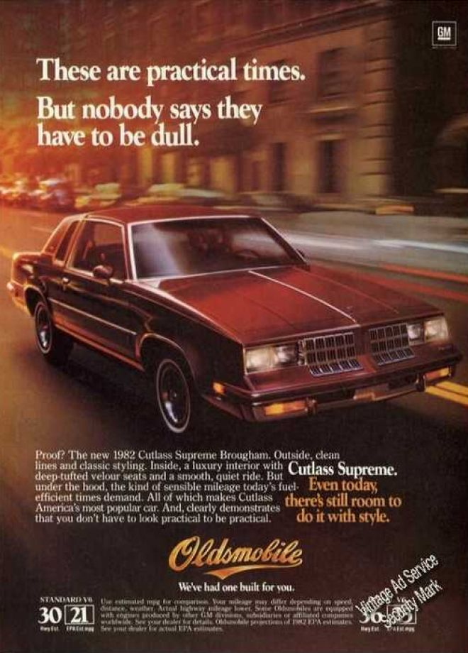 Vintage Car Advertisements Of The 1980s Page 9