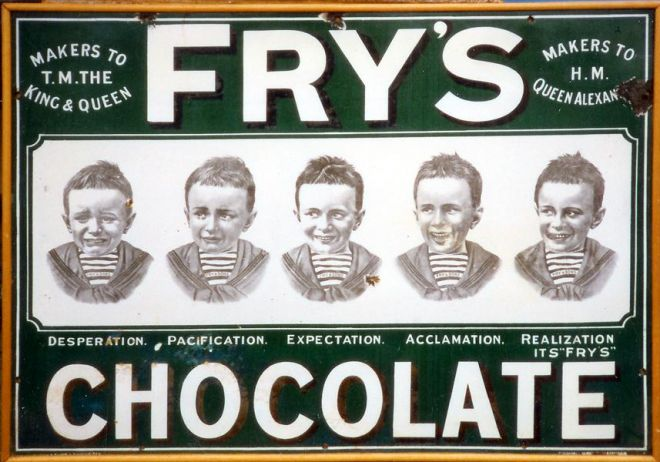 Vintage Candy Advertisements Of Miscellaneous Years