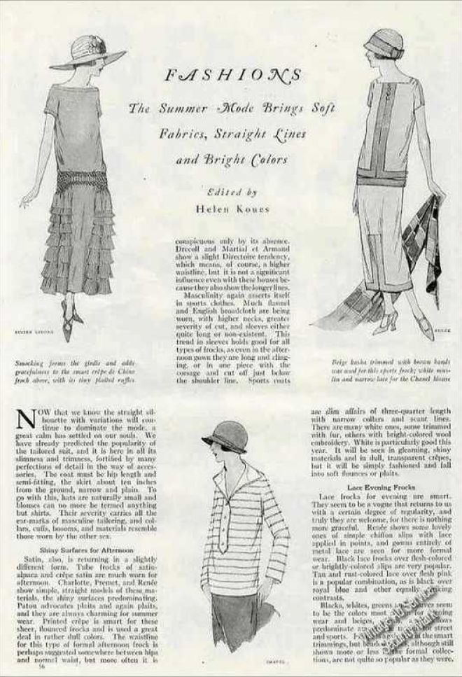 Vintage Clothes/ Fashion Ads Of The 1920s (Page 7