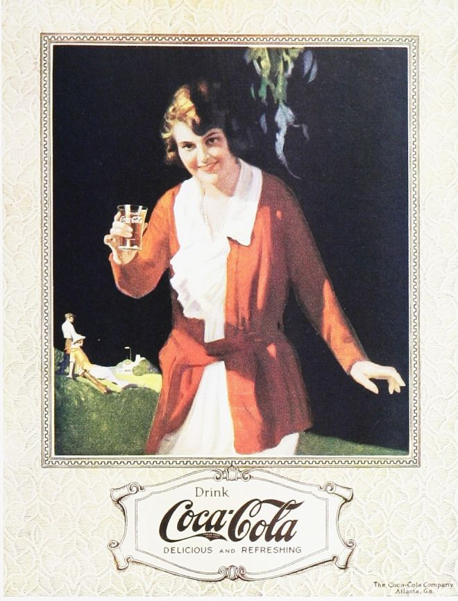 Vintage Coke/ Coca-Cola Advertisements of the 1920s