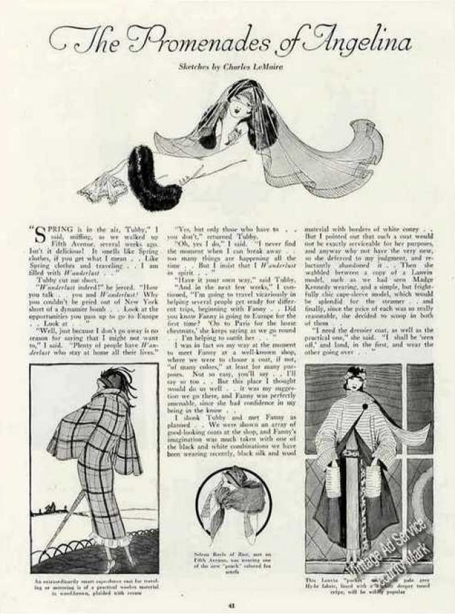 Vintage Clothes/ Fashion Ads Of The 1920s (Page 20