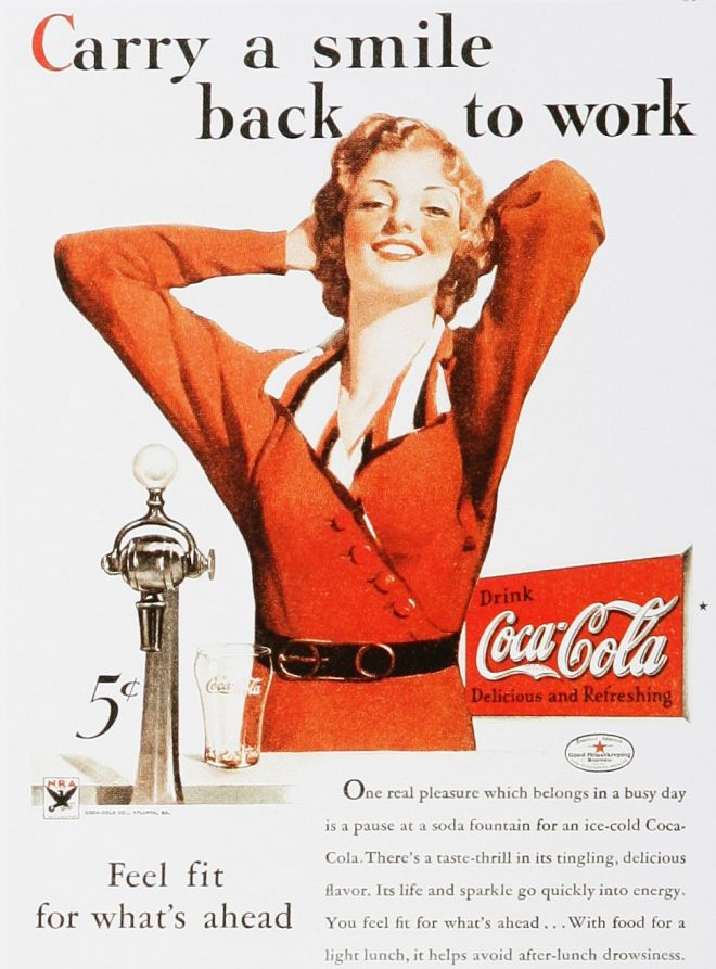Vintage Coke/ Coca-Cola Advertisements of the 1930s (Page 2)