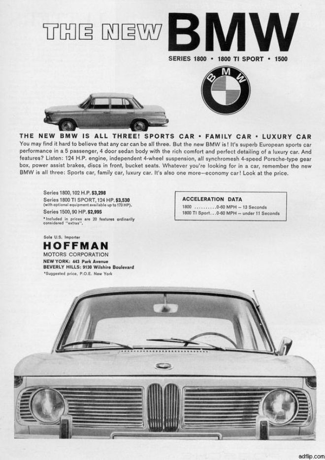 Vintage Car Advertisements Of The