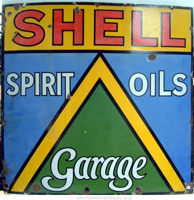 Shell Garages: Vintage Oil And Gas Ads (Page 2) Of Miscellaneous Years