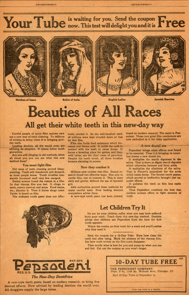 Vintage Beauty and Hygiene Ads of the 1920s