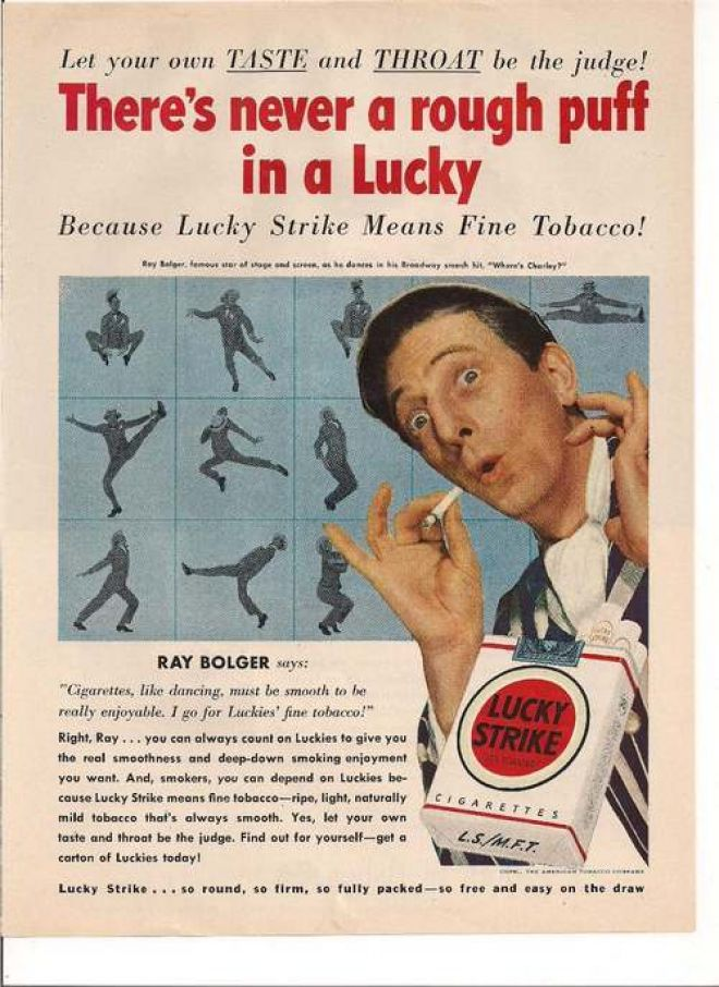 American cigarettes Bond