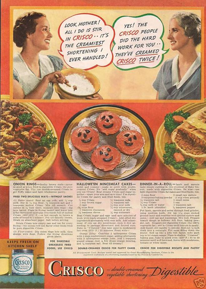 Food Advertiseme...1930s Food