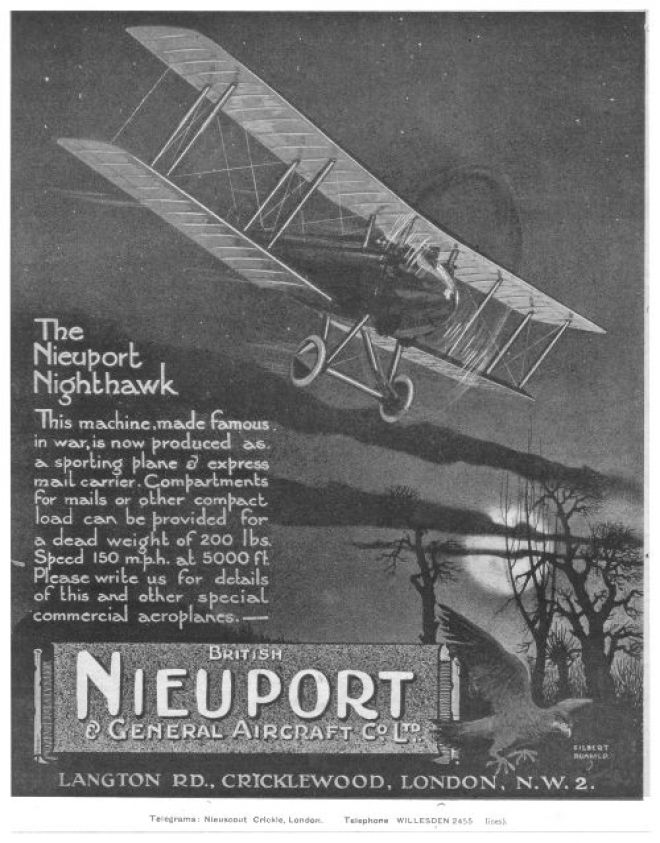 vintage airlines and aircraft ads of the 1920s