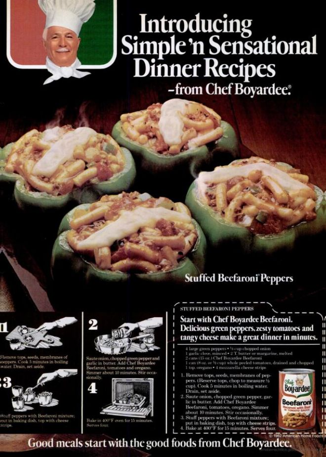 Vintage Food Advertisements Of The 1980s Page 3