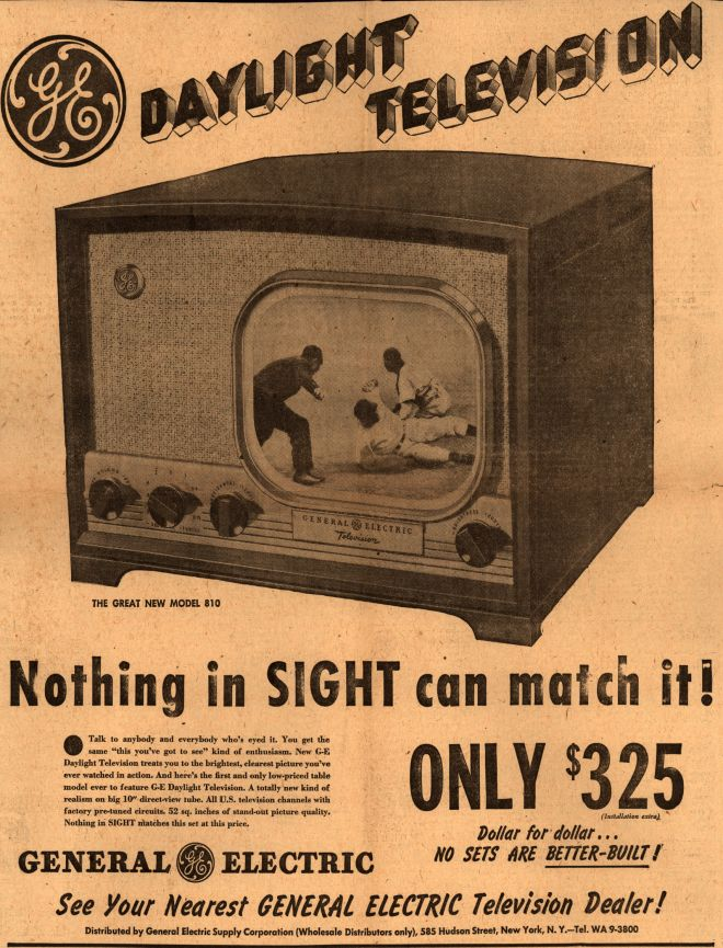 Vintage Electronics Tv Of The 1940s Page 13