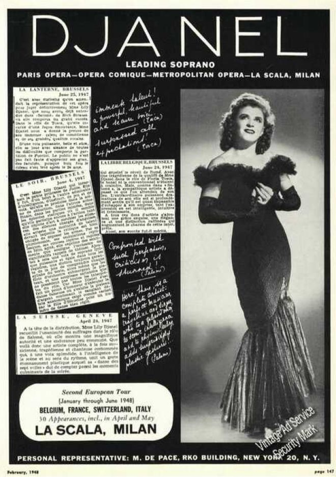 Vintage Music Advertisements of the 1940s