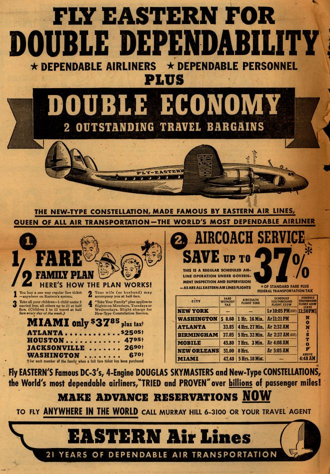 Vintage Travel And Tourism Ads Of The 1940s Page 64