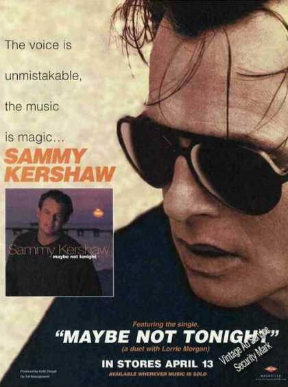 "Sammy Kershaw Photos ""Maybe Not Tonight"" (1999)"