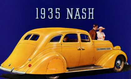 Nash Ambassador Eight Victoria with Flying Power (1935)