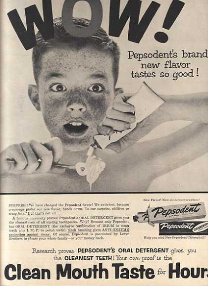Pepsodent's Tooth Paste (1954)
