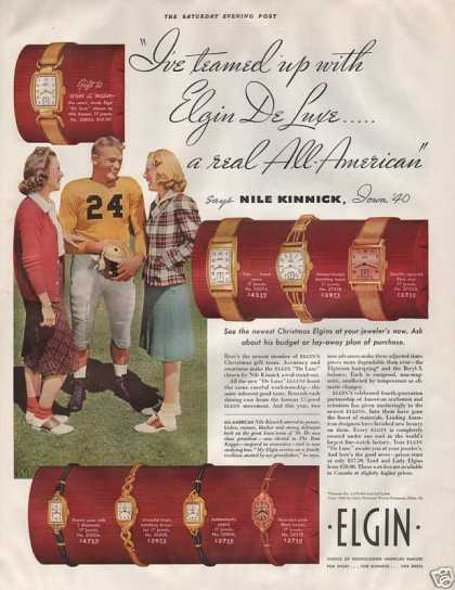 Elgin Men and Womens Watches (1940)