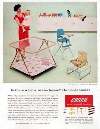 Cosco Baby Playpen (1959)