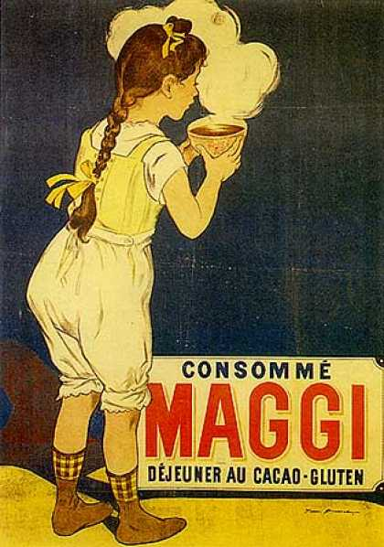 Maggi by Firmin Bouisset (1905)