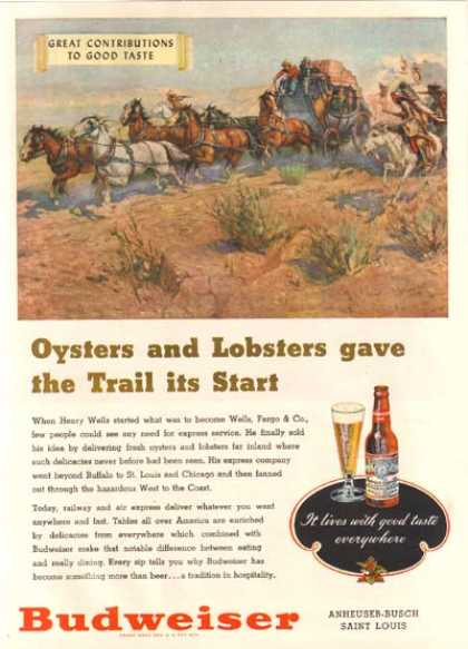 """Oysters and Lobsters gave the Trail it's Start"" (1948)"