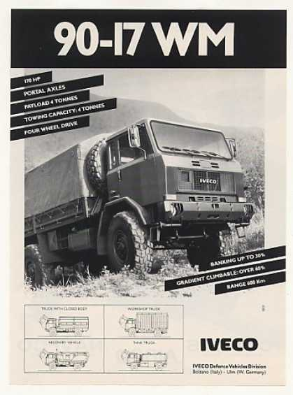 IVECO 90-17 WM Military Truck Photo (1988)