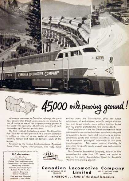 Canadian Locomotive Co. #2 (1951)