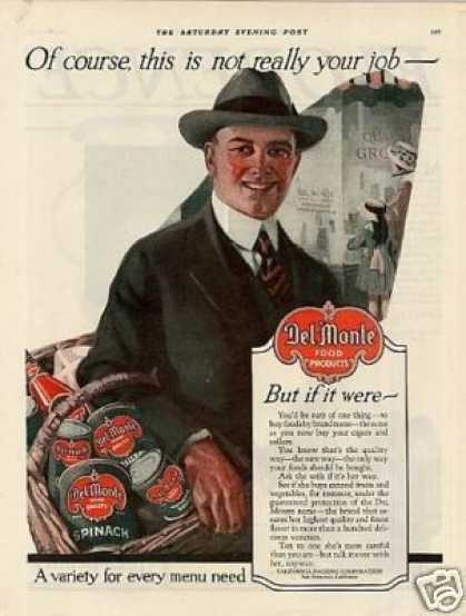 Del Monte Food Products Color (1919)