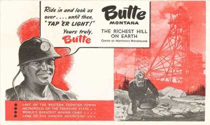 Promotion of Butte, Montana