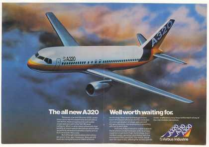 Airbus Industrie A320 Aircraft (1982)