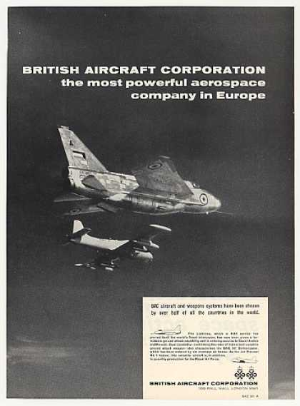 British Aircraft BAC Lightning Photo (1969)