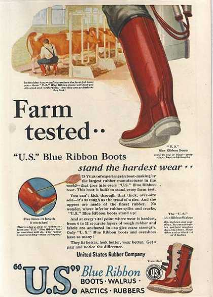 United States Rubber's Blue Ribbon Boots (1927)