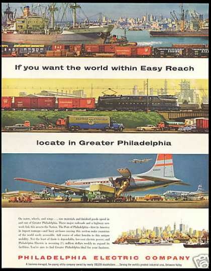 Philadelphia Electric Company World Access (1957)