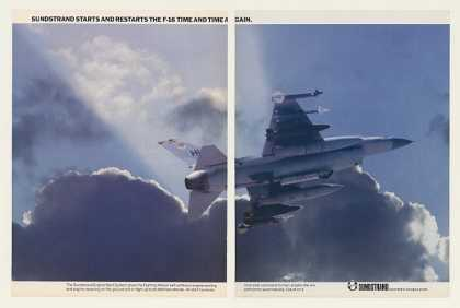F-16 Fighting Falcon Aircraft Sundstrand (1983)