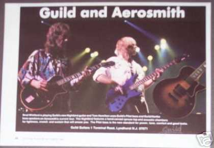 Aerosmith Photo Guild Guitar (1986)