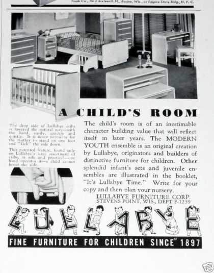 Lullabye Furniture for Kids (1939)